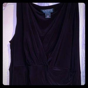 Little black formal dress.